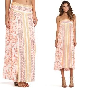 Free People Squared Off Convertible Skirt